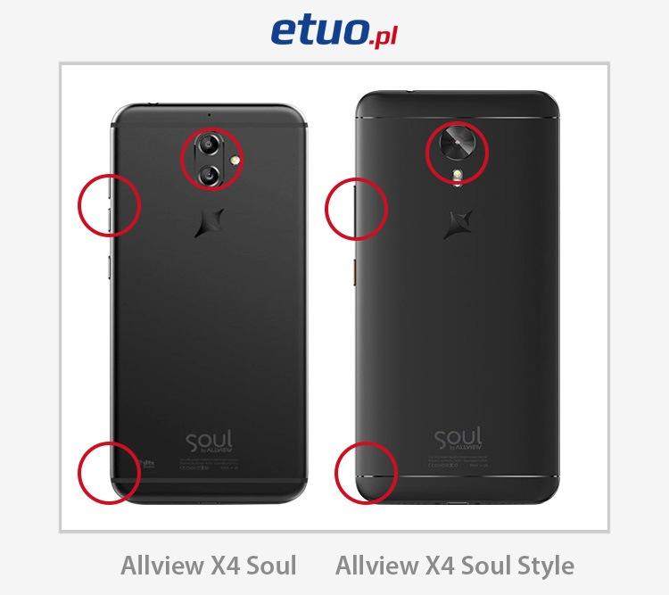 Allview X4 Soul i Allview X4 Soul Style - porównanie
