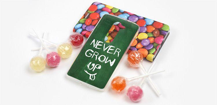etui na dzień dziecka - never grow up