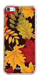 Etui jesienne z wzorem kolorowych liści