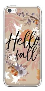 Etui jesienne z wzorem Hello Fall