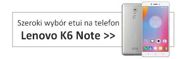 Etui na telefon Lenovo K6 Note