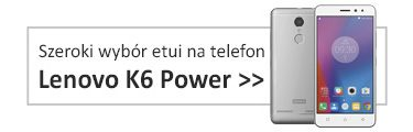 Etui na telefon Lenovo K6 Power