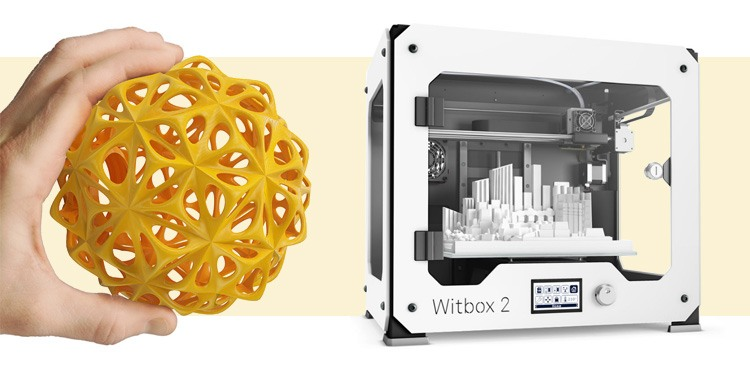 Drukarka 3D BQ Witbox 2