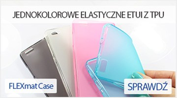 Etui na telefon FLEXmat Case do Huawei P8 Lite