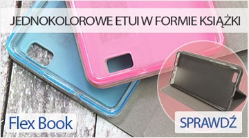 Etui na telefon Flex Book do Huawei P8 Lite