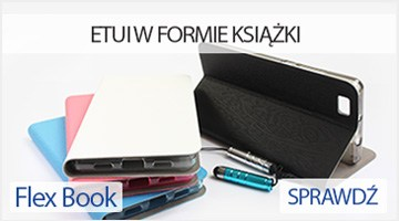 Etui na telefon Flex Book Case do Huawei P8 Lite