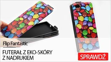 Etui na telefon do Huawei P8 Lite Flip Fantastic