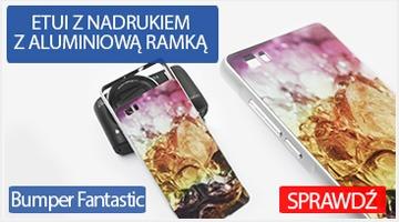 Etui na telefon Bumper Fantastic do Huawei P8 Lite