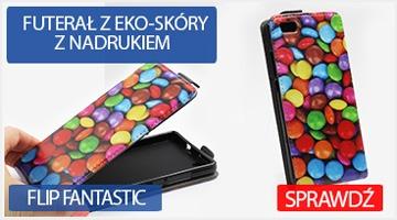 Etui na telefon Flip Fantastic do Huawei P8 Lite