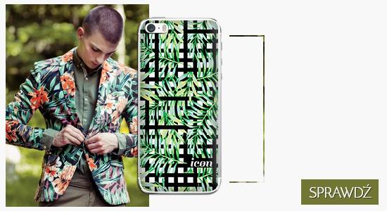 Etui na telefon icon monstera leaf