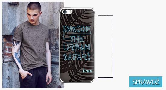 Etui na telefon icon inside the urban safari