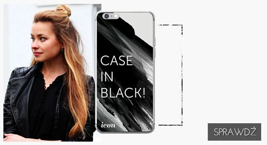 Etui na telefon icon case in black