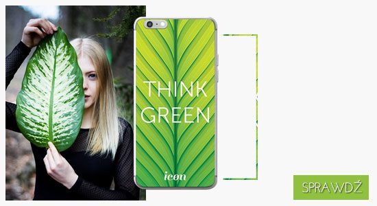 Etui na telefon icon thing green