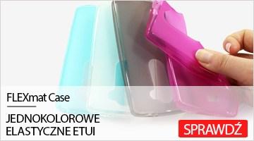 Etui na telefon FLEXmat Case do LG Leon 4G LTE