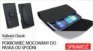 Etui na telefon Kabura Classic do Samsung Galaxy Grand Prime