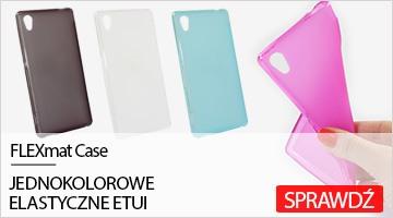 Etui na telefon FLEXmat Case do Sony Xperia M4 Aqua