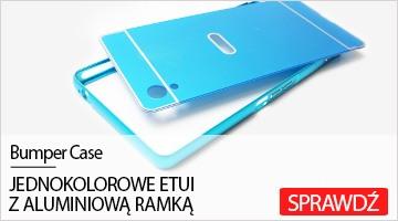 Etui na telefon Bumper Case do Sony Xperia M4 Aqua