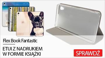 Etui na telefon Flex Book Fantastic do Sony Xperia M4 Aqua